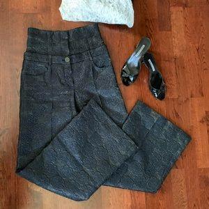 CHANEL Pants & Jumpsuits - CHANEL High-Rise Camellia Pants
